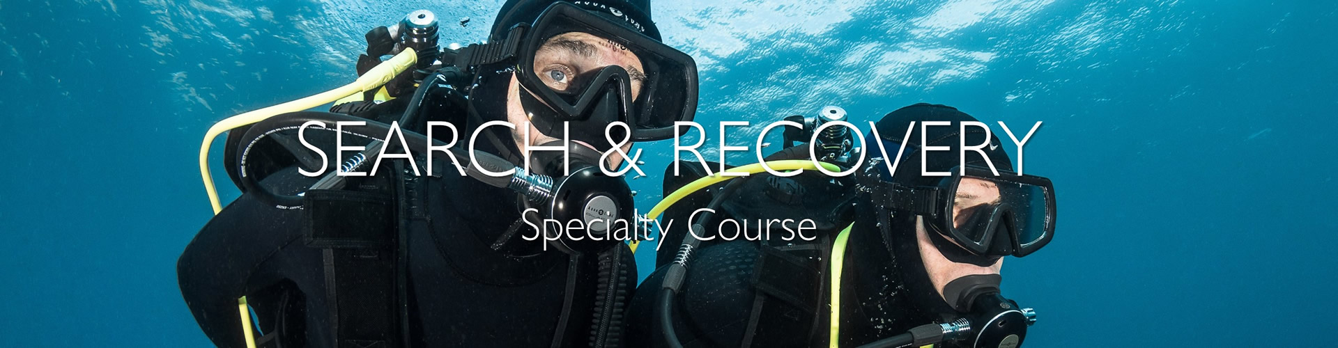 PADI Search and Recovery Course