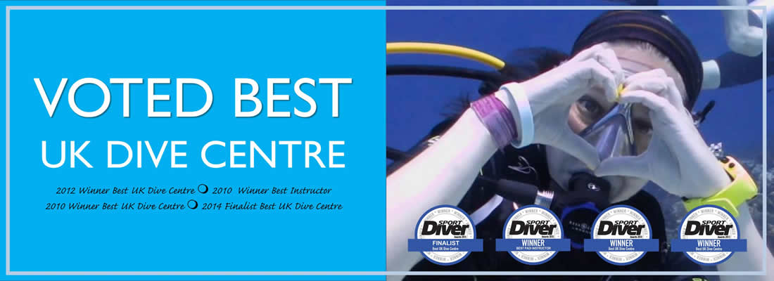 Voted Best UK Dive Centre